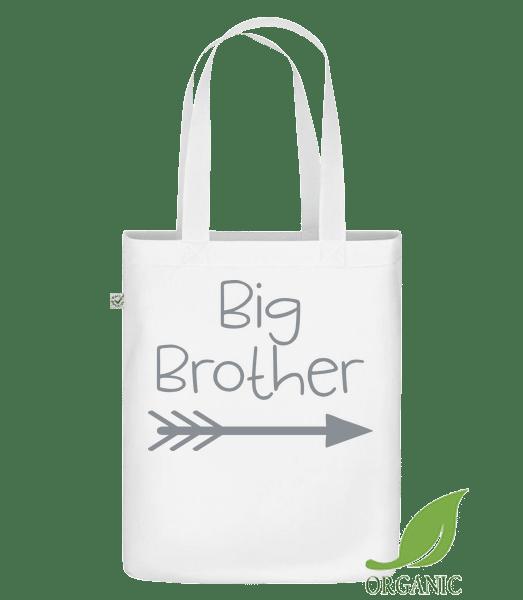 Big Brother - Bio Tasche - Weiß - Vorn