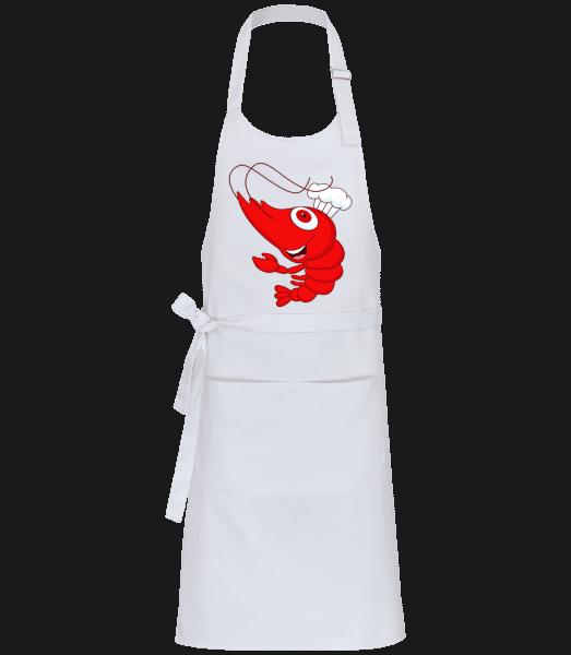 Funny Crab - Profesionální zástĕra - Bílá - Napřed