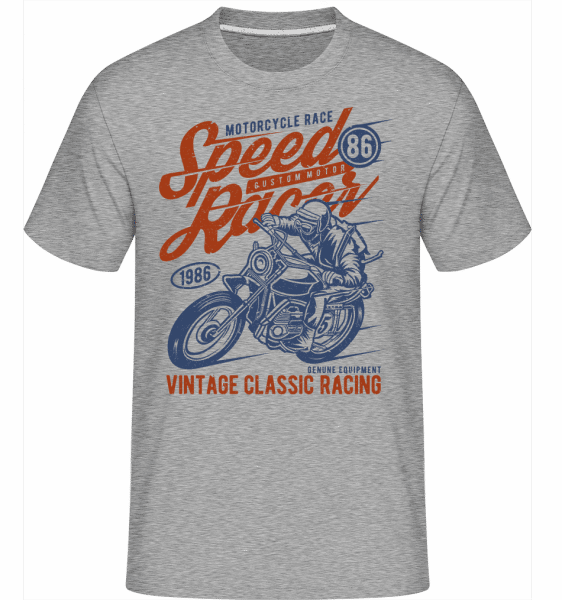Speed Racer(1) -  Shirtinator Men's T-Shirt - Heather grey - Front