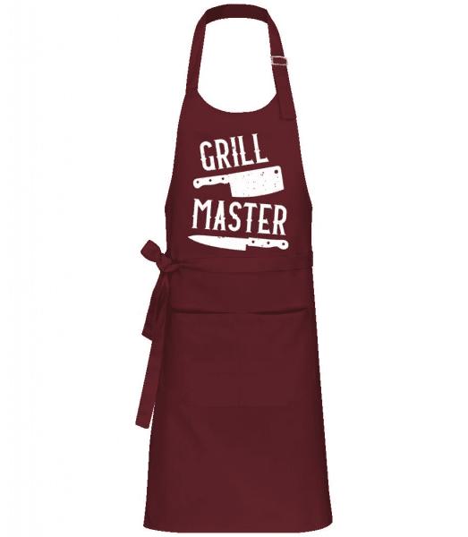 Grillmaster - Professional Apron - Bordeaux - Front