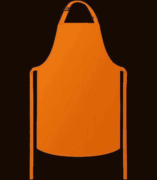 Kochschürze - Orange - Vorne