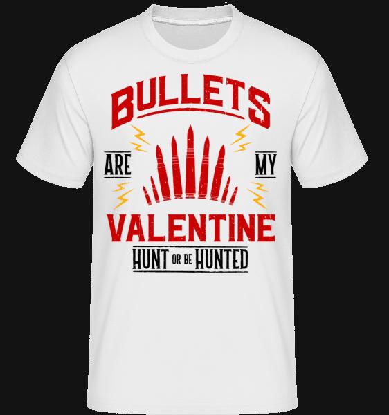 Bullets Are My Valentine - Shirtinator Männer T-Shirt - Weiß - Vorn