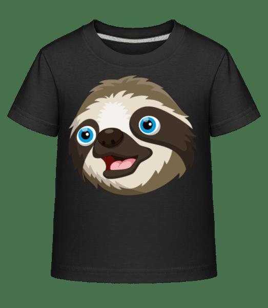 Cute Sloth - Kid's Shirtinator T-Shirt - Black - Vorn