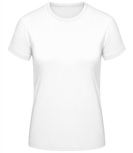 Basic T-Shirt - White - Vorn