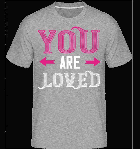 You Are Loved -  Shirtinator Men's T-Shirt - Heather grey - Vorn