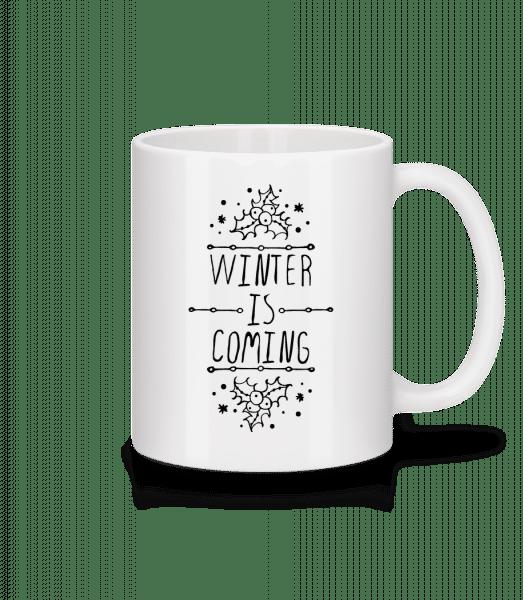 Winter Is Coming - Mug - White - Vorn