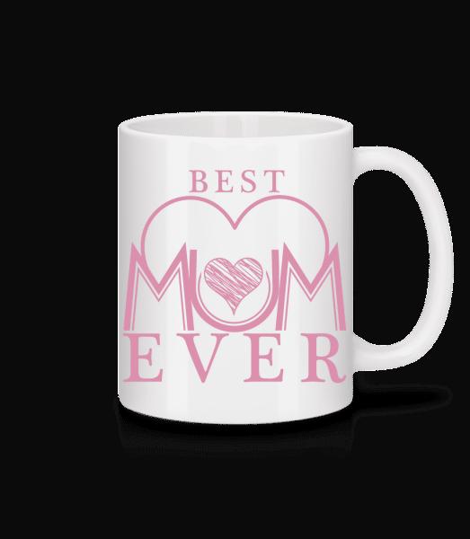 Nejlepší máma Ever - Keramický hrnek - Bílá - Napřed