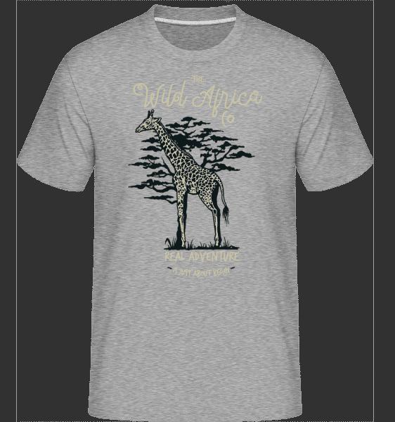 Giraffe -  Shirtinator Men's T-Shirt - Heather grey - Vorn