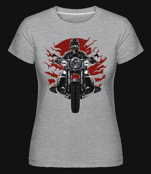 Wild Biker -  Shirtinator Women's T-Shirt - Heather grey - Vorn