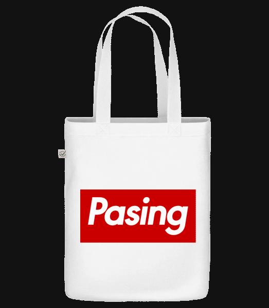 Pasing - Bio Tasche - Weiß - Vorn