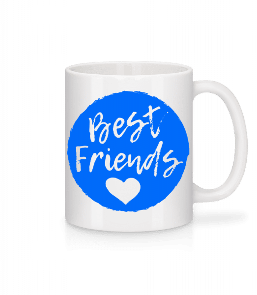 Best Friends Love - Mug - White - Vorn