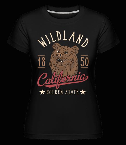 Wildland California -  Shirtinator Women's T-Shirt - Black - Vorn