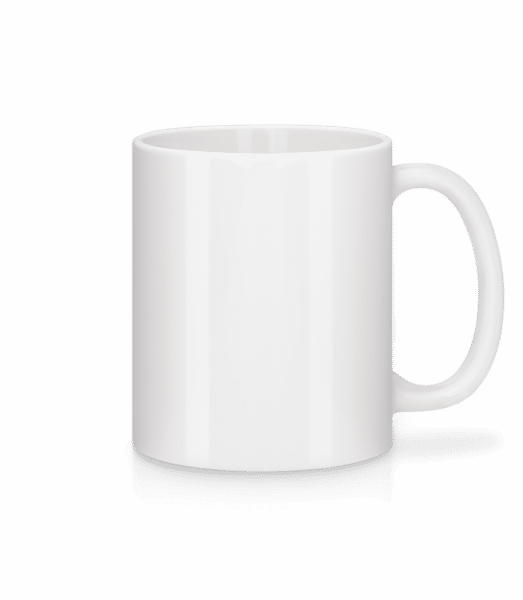 Mug en céramique blanc - Blanc - Devant