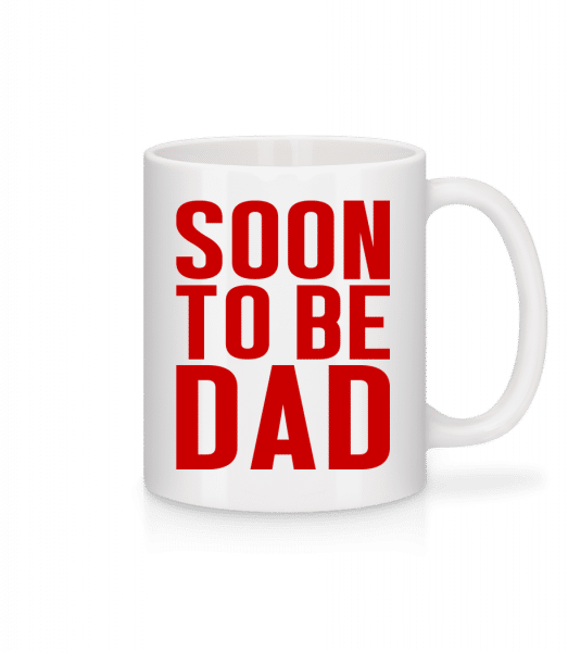 Soon To Be Dad - Mug - White - Front