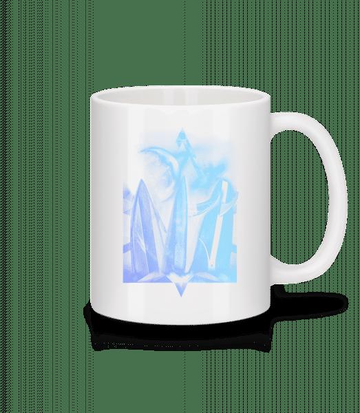 Surfer Heaven - Mug - White - Vorn