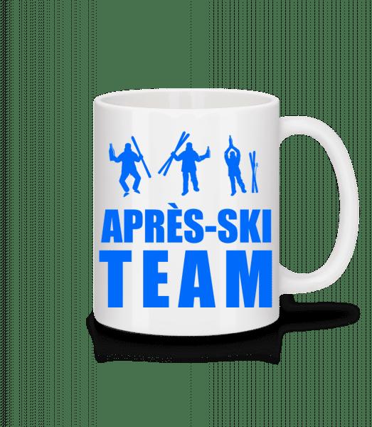 Après Ski Team - Mug - White - Vorn