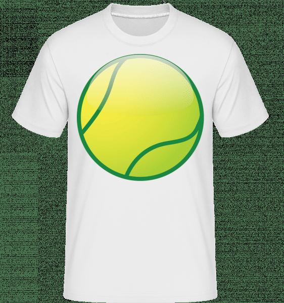 Tennis Ball -  Shirtinator Men's T-Shirt - White - Front