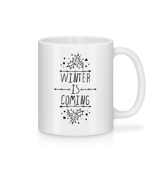 Winter Is Coming - Mug - White - Front