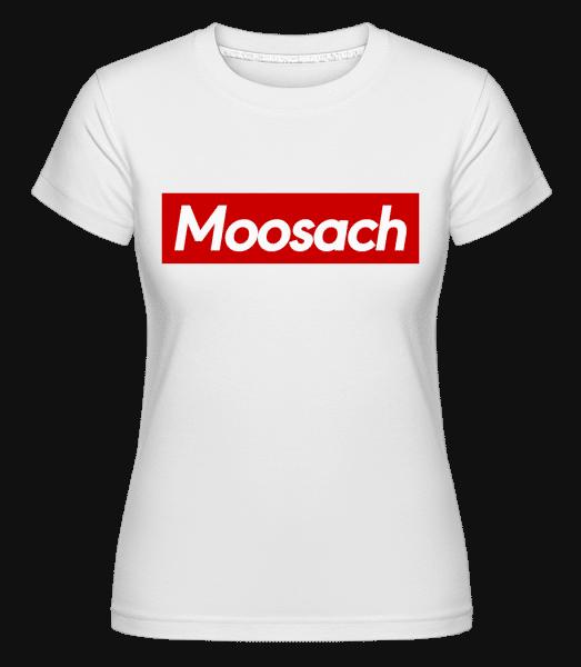 Moosach - Shirtinator Frauen T-Shirt - Weiß - Vorn