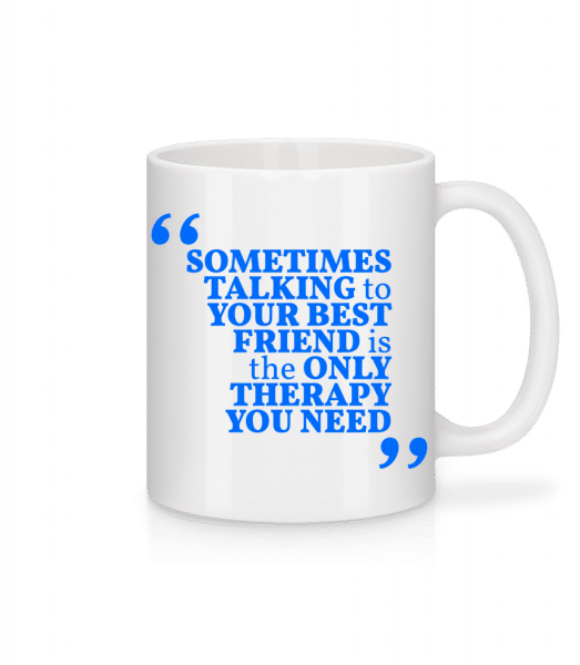 Your Best Friend - Mug - White - Front