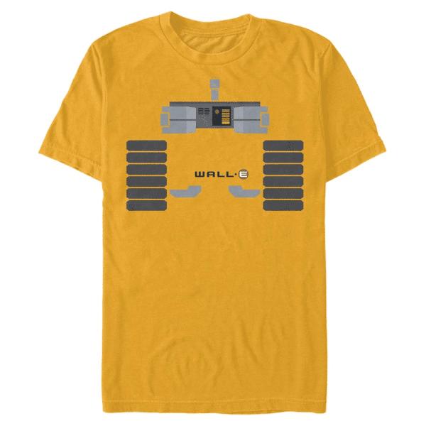 Wall E Body - Pixar Wall-E - Men's T-Shirt - Yellow - Front