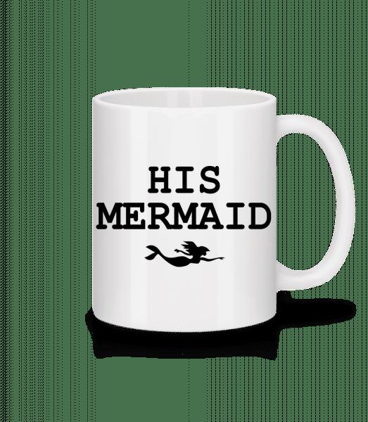 His Mermaid - Tasse - Weiß - Vorn