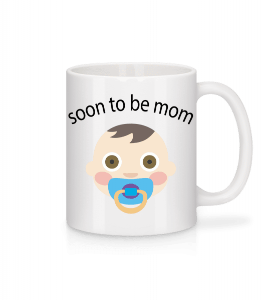 Soon To Be Mom - Mug - White - Vorn