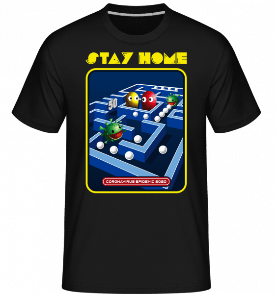 Stay Home -  Shirtinator Men's T-Shirt - Black - Vorn
