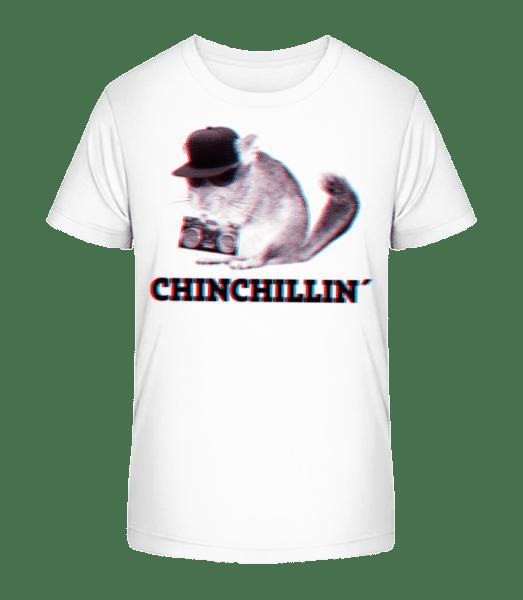 ChinChillin' - Kid's Premium Bio T-Shirt - White - Vorn