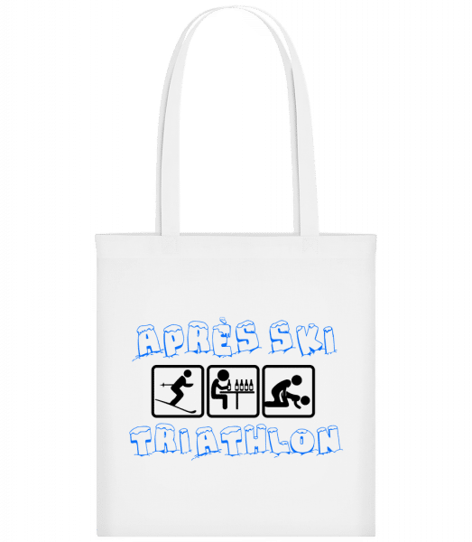 Après Ski Triathlon - Carrier Bag - White - Vorn