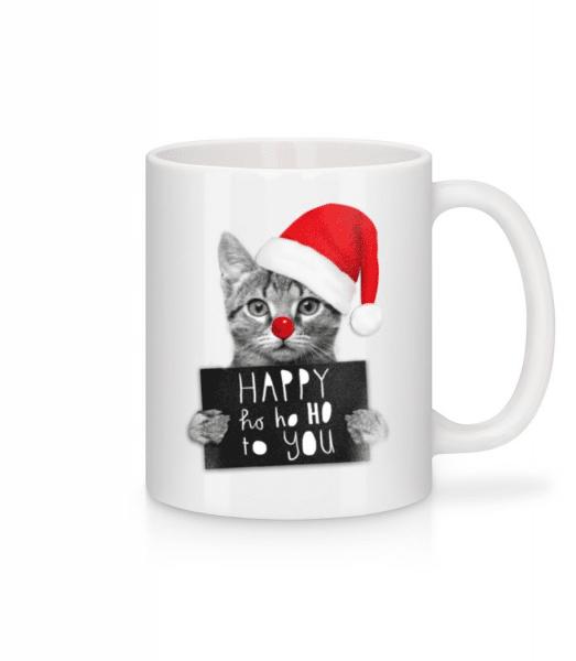 Happy Ho Ho Ho To You - Tasse - Weiß - Vorne