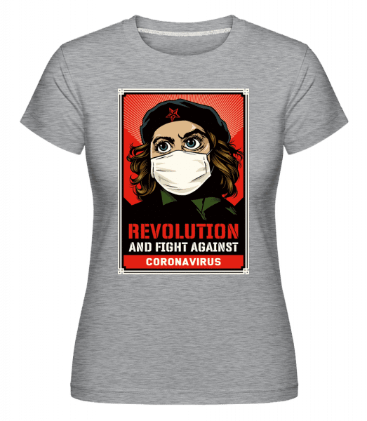 Revolution And Fight -  Shirtinator Women's T-Shirt - Heather grey - Vorn