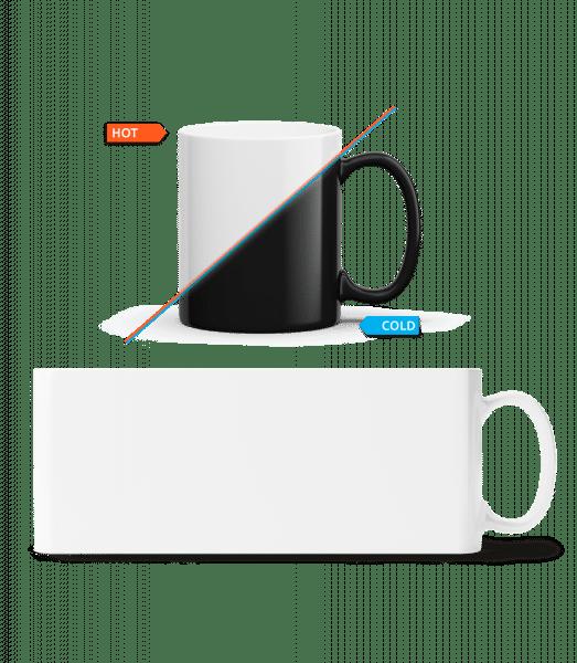 Colour Changing Mug - White - Vorn