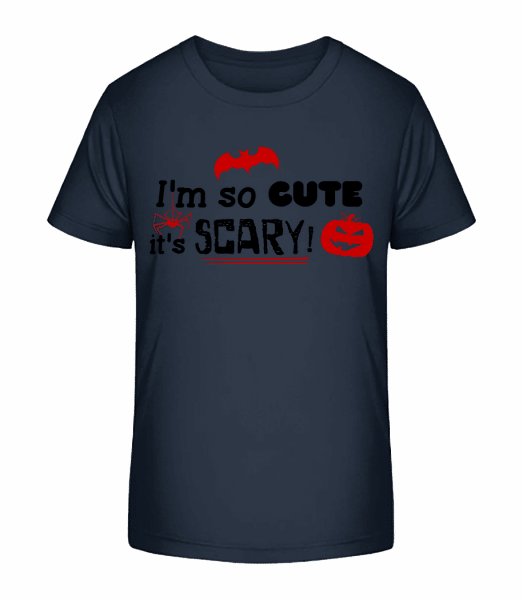 So Cute It's Scary - Kid's Premium Bio T-Shirt - Navy - Vorn