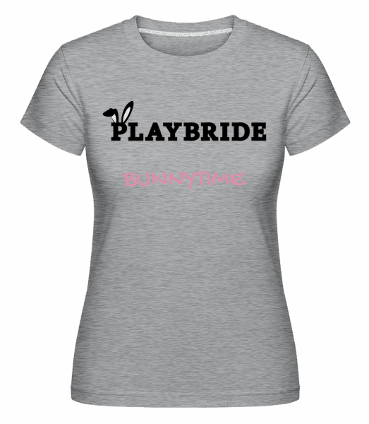 Playbride Bunnytime -  Shirtinator Women's T-Shirt - Heather grey - Vorn