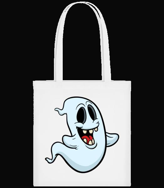 Cartoon Ghost - Taška Carrier - Bílá - Napřed