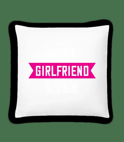 Best Girlfriend Ever - Cushion - White - Vorn