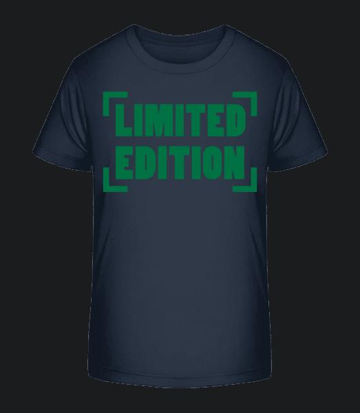 Limited Edition - Kid's Premium Bio T-Shirt - Navy - Vorn