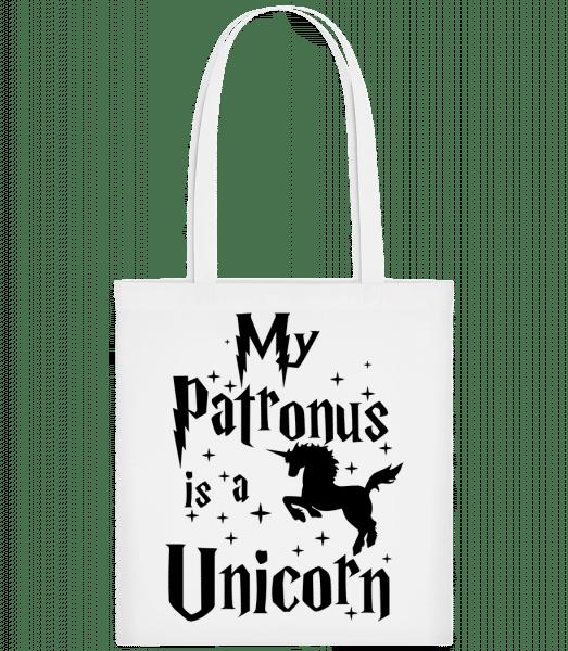 My Patronus Is A Unicorn - Carrier Bag - White - Vorn
