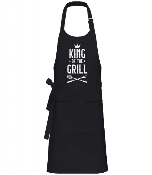 King Of The Grill - Professional Apron - Black - Front
