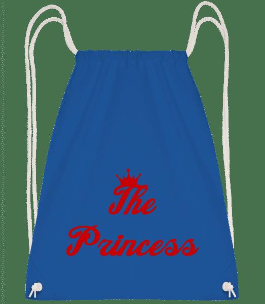 The Princess - Drawstring Backpack - Royal blue - Vorn