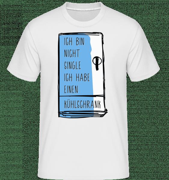 Ich Habe Einen Kühlschrank - Shirtinator Männer T-Shirt - Weiß - Vorn