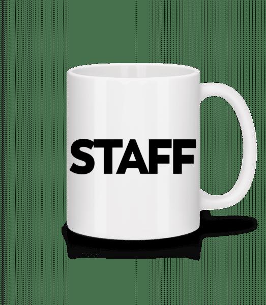 Staff - Mug - White - Vorn