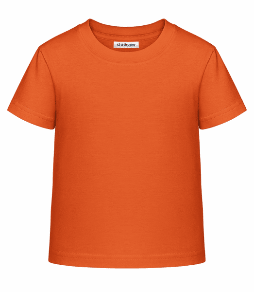 Kid's Shirtinator Basic T-Shirt - Orange - Vorn