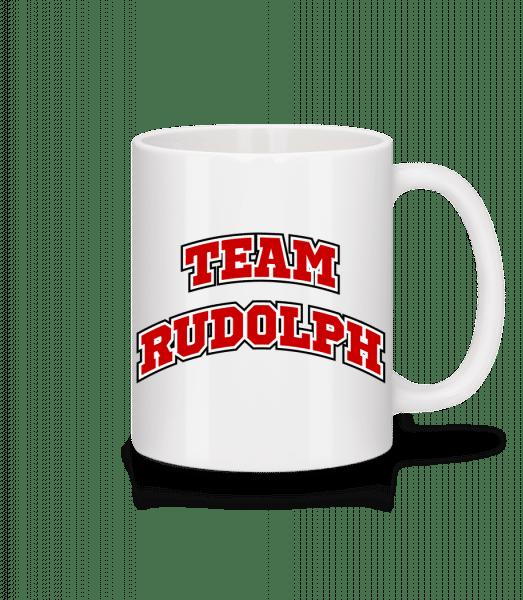 Team Rudolph - Mug - White - Vorn