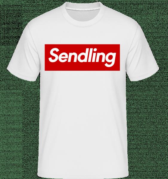 Sendling - Shirtinator Männer T-Shirt - Weiß - Vorn