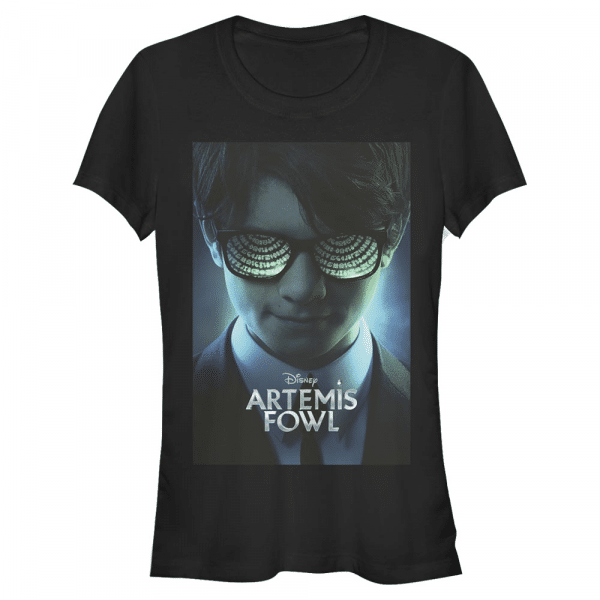Poster - Disney Artemis Fowl - Women's T-Shirt - Black - Front