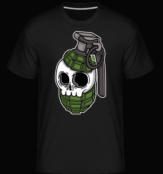 Skull Grenade -  Shirtinator Men's T-Shirt - Black - Vorn