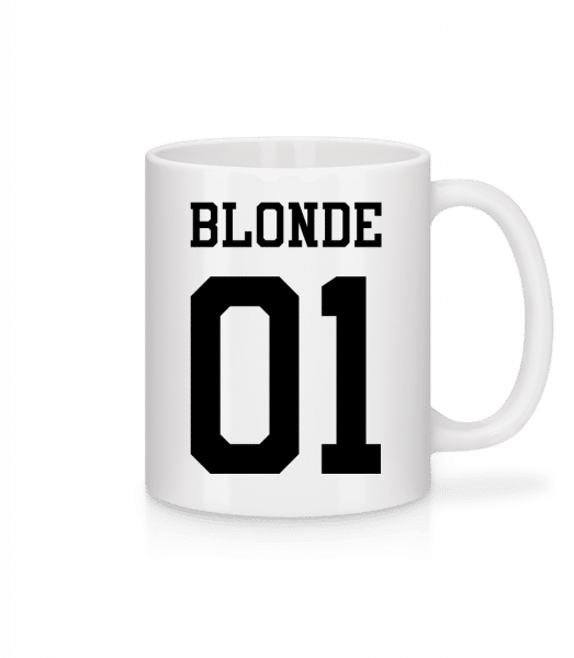 Blonde 01 - Tasse - Weiß - Vorn