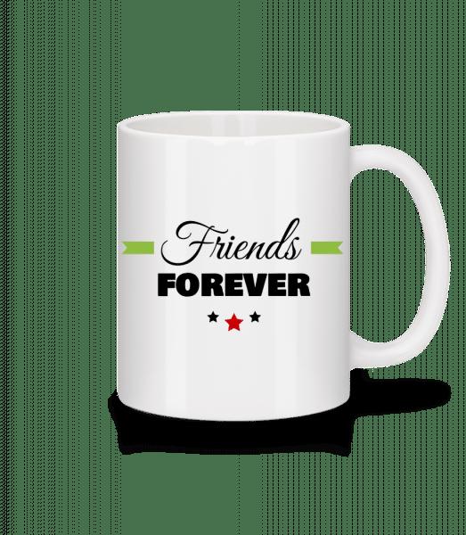 Friends Forever - Mug - White - Vorn